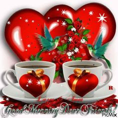 An animated gif. Make your own gifs with our Animated Gif Maker. Good Morning Dear Friend, Good Morning Coffee, Good Morning Picture, Good Morning Flowers, Good Night Image, Good Morning Good Night, Good Afternoon, Birthday Wishes Gif, Cute Good Morning Images