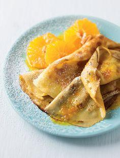 Sticky orange pancakes | Woolworths TASTE