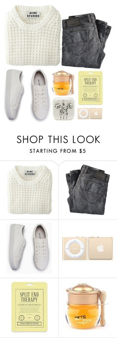 """""""Beyond My Wildest Imaginations"""" by blurry-constellations-xx ❤ liked on Polyvore featuring Acne Studios, Diesel, Love 21 and Skinfood"""