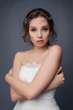 Delicate Silver Hair Vine Bridal Hair Vine Wedding Hair