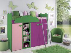 Camerette con letti midi STEFANIA #camerette #bedrooms #design #furnishing