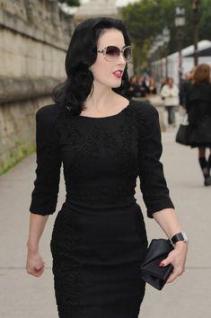 I love little black dresses.