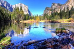 Favourite photography spots in Yosemite. Pictured: view of El Capitan