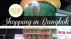 """""""Travel guides for Bangkok all speak of the gold crusted Grand Palace, the crumbling wats, or the floating market. But they all neglected to talk about one thing: the malls."""" In this sh…"""