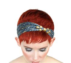 Excited to share this item from my #etsy shop: Womens Beaded Fancy Headband Winter Headbands, Headbands For Women, Christmas Gifts For Her, Vintage Fashion, Vintage Style, Gold Beads, Hair Band, Short Hair Styles, Handmade Items