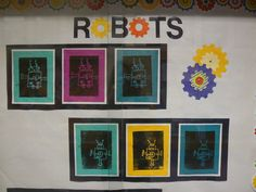 first grade robot art lessons - Google Search