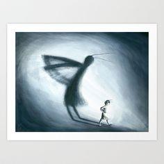 Shadow+Art+Print+by+Rosalie+Street+-+$20.00