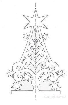 Kirigami Christmas Tree