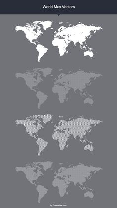 Free dotted world map vector free cnc and graphics world map vectors freebie gumiabroncs Image collections
