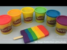 Fun Learning Colors and Numbers with Play Doh Lollipops Video for Kids - YouTube