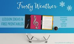Music lesson idea to use during the cold months. Ideas for movement, rhythm, and harmony.