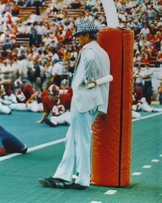 """...for him the sidelines were his church – Paul """"Bear"""" Bryant."""