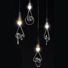 Seletti - Twist LED-Leuchte - Klar -