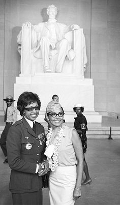 Josephine Baker & Lena Horne March on Washington 1963