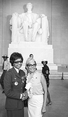 Josephine Baker & Lena Horne March on Washington 1963