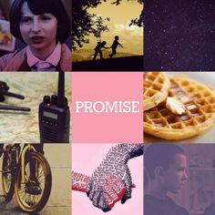 Stranger Things edit, Mike and Eleven. // Edit by oddly-drawn-thoughtss.