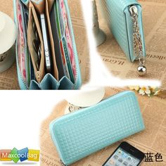 For mom  Maxcool Fashion Women Zip Colorful Clutch Case Lady Wallet for iPhone 5 4S Purse   eBay