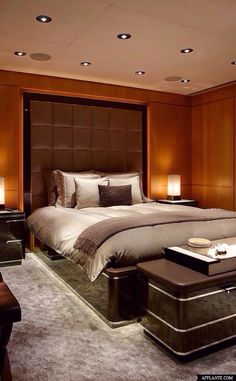 #Luxury-Bedrooms - classy styling #Luxury.com