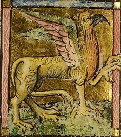 Griffin, Southern Netherlands, 1450-1500. National Library of the Netherlands, Public Domain