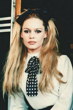 Brigitte Bardot - hair inspiration