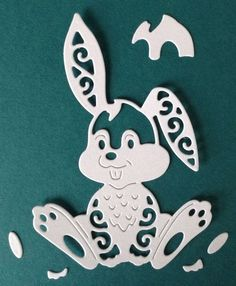 Tattered Lace Hare die cut shapes. in Crafts, Cardmaking & Scrapbooking, Die-Cut Shapes & Punchies | eBay