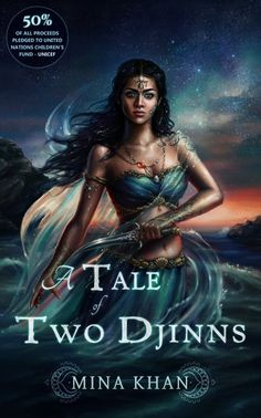 """Read """"A Tale of Two Djinns"""" by Mina Khan available from Rakuten Kobo. Akshay, warrior prince of the earth djinns, earns the title of Crown Prince at a high cost when he loses his best friend. Black Girl Art, Black Women Art, Art Girl, Black Mermaid, Mermaid Art, Fantasy Women, Fantasy Girl, Fantasy Princess, Fantasy Warrior"""
