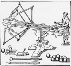 springald catapult | ... was the most popular siege catapult used during the medieval period