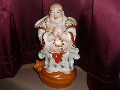 LARGE Chinese Buddha Porcelain Statue