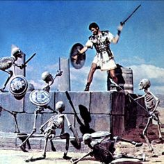 Update: See my discussion of Harryhausen movies showing on TCM August through October 2011 here. Ray Harryhausen is a special effects artist who created some of the most compelling stop-motion anim… Fantasy Movies, Sci Fi Movies, Sci Fi Fantasy, Horror Movies, Comedy Movies, Action Movies, Indie Movies, Stop Motion, Storyboard