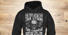 The Cornish 8 Sweatshirt from LOVE CORNWALL , a custom product made just for you by Teespring. With world-class production and customer support, your satisfaction is guaranteed. - The Devil Whispers You Cant Withstand The...