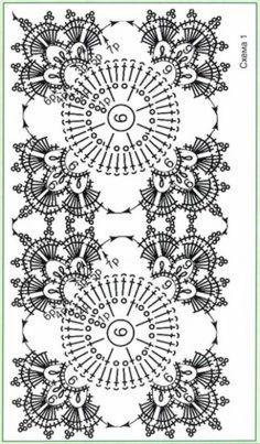 Transcendent Crochet a Solid Granny Square Ideas. Inconceivable Crochet a Solid Granny Square Ideas. Vintage Crochet Patterns, Crochet Square Patterns, Crochet Squares, Crochet Chart, Thread Crochet, Crochet Granny, Crochet Designs, Crochet Stitches, Granny Squares