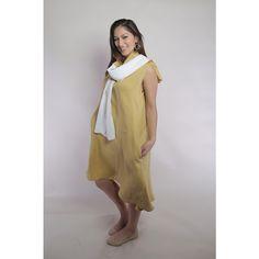 Linen High-low Dress