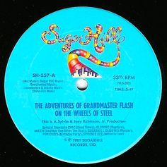 [1981] Grandmaster Flash And The Furious Five - The Adventures Of Grandmaster Flash On The Wheels Of Steel >> https://youtu.be/gXNzMVLqIHg