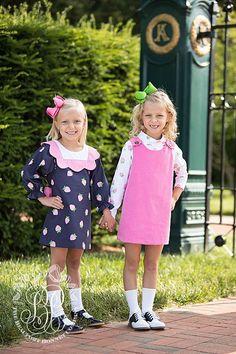 Juliet Jumper - Hamptons Hot Pink Corduroy - The Beaufort Bonnet Company