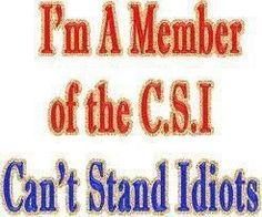 or stupid people