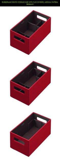 Rubbermaid Bento Storage Box with Flex Dividers, Medium, Paprika (1808649) #file #plans #technology #fpv #shopping #camera #gadgets #parts #products #tech #drone #boxes #racing #storage #kit