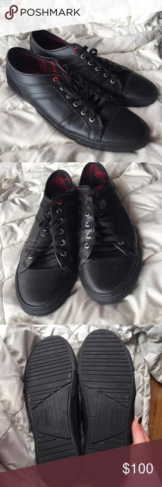 Ben Sherman shoes Ben Sherman Black shoes, excellent condition, used one time Ben Sherman Shoes