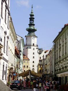 Bratislava, Slovakia... A surprisingly very nice little town