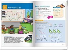 """Unidad 12 de Matemáticas de 4º de Primaria: """"Rectas y ángulos"""" Math Worksheets, Editorial, Bullet Journal, Interactive Activities, Late Homework, Unity, United States, Reading"""