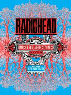 I love these gig posters for #AustinCityLimits