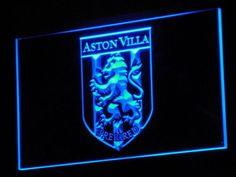 Birmingham Aston Villa FC 2000-2007 Logo LED Neon Sign - Legacy Edition