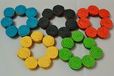 Kids themed Olympic party with everything you need to create a party to remember Olympic Golf, Olympic Gymnastics, Olympic Sports, Olympic Games, Food Themes, Party Themes, Party Ideas, Office Olympics, Usa Party