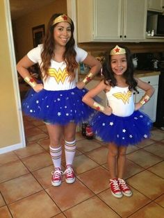 Wonder woman costume Wonder Woman Tutu, Wonder Woman Halloween Costume, Wonder Woman Birthday, Wonder Woman Party, Birthday Woman, Bday Girl, Diy Halloween Costumes, Superhero Costume Ideas, Superhero Party