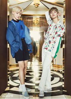 NyuKyu my bbys We The Best, Picture Credit, Pop Group, Monsta X, Korea, Handsome, Vogue, Kpop, Shirt Dress