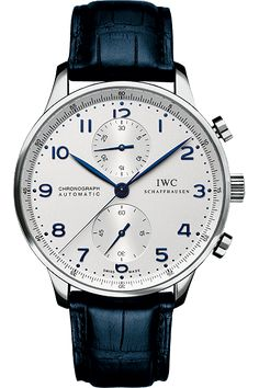 Real man's watch. You can keep your flash tat. I'll take one of these - IWC Portuguese Chronograph