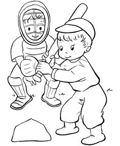 baseball coloring pages for toddlers here is an assortment of baseball coloring sheets for your - Free Sports Coloring Pages