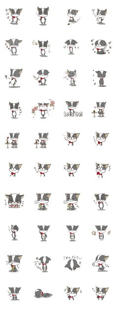 It is a sticker of Chihuahua.
