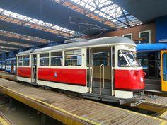 Historical T1 in Ostrava
