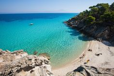 Bonjour from Vourvourou, Halkidiki ~ Macedonia Vacation Destinations, Vacation Spots, Dream Vacations, Travel Pictures, Travel Photos, Travel Ideas, Great Places, Beautiful Places, Panoramic Images