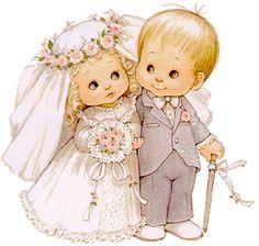 casados, pareja